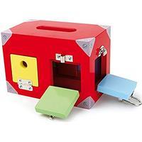 Legler Motor Activity Toy Lock Box