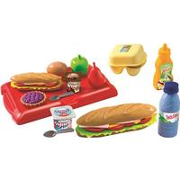 Ecoiffier Sandwich Box & 25 Tillbehör