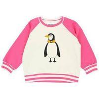 Mini Rodini Penguin Sweatshirt - Pink