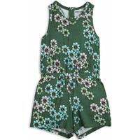 Mini Rodini Daisy Summersuit - Green