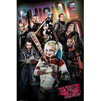 GB Eye Suicide Squad in Squad We Trust Maxi 61x91.5cm Poster Affisch
