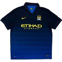 Nike Manchester City FC Away Jersey 14/15 Sr
