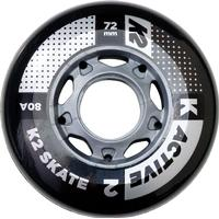 K2 Skate Active 72mm 80A 4-pack