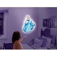 Disney Wall Friends Cinderella, Talking Room Light By Uncle Milton