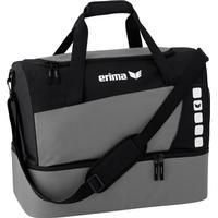 Erima Club 5 Sports väska med bottenfack - Granit / Svart - M Grå,Svart Grå,Svart