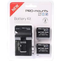 PRO-mounts Battery Kit Hero 4