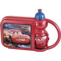 Disney Matlåda & Vattenflaska Röd Onesize