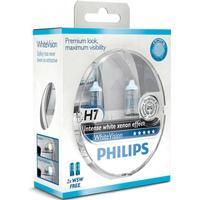 Philips Strålkastarlampor H7 WhiteVision