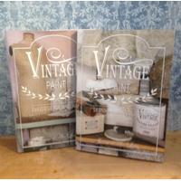 Vintage Paint. Tilbud 2 bøger