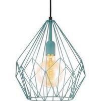 Eglo Carlton Mint Steel Pendant Light