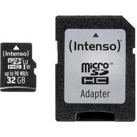 Intenso MicroSDHC Class 10 UHS-I U1 90MB/s 32GB +Adapter