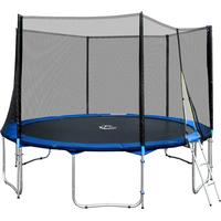 TecTake Trampoline + Safety Net 395cm