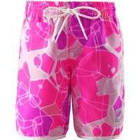 82cfd7301da Reima Badeshorts - Tahiti - UV50 - Hvid m. Pink/Lilla Print - 11