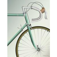 Vissevasse Racing Bicycle 30x40cm Affisch