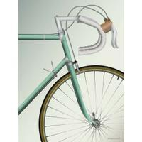 Vissevasse Racing Bicycle 70x100cm Plakater