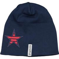 Geggamoja Star Beanie- Red / Navy (15716233)
