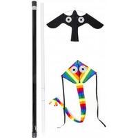 Greenline MotFågel Scarecrow Set 7 m, 2 kites