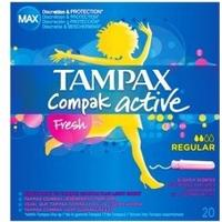 Tampax Compact Active Fresh Regular 20-pack