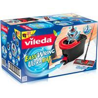 Vileda Easy Wring Ultramat Flat Mop & Bucket