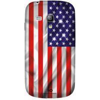 White Diamonds USA Flag Case (Galaxy S3 Mini)