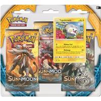 Pokémon Sun & Moon Booster Packs with Bonus Togedemaru Promo Card & Coin