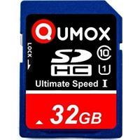 32GB Qumox SDHC Class 10 UHS-I