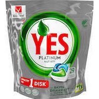 Yes Platinum Dishwasher Tablet 29-pack
