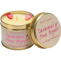 Bomb Cosmetics Aroma Candle Caramel & Pink Pepper