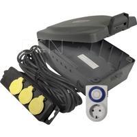 Masterplug Masterbox Outdoor Power Kit IP54 8m