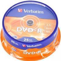 Verbatim DVD-R 4.7GB 16x Spindle 25-Pack