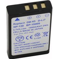 NP-120/D-LI7- Batteri til Fuji digital kamera