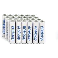 Panasonic eneloop (Bakke) AAA / R03 (24 stk.) miljøvenlige genopladelige batterier - 2100 opladninger