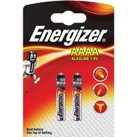 Energizer AAAA/LR61 Batterier (2 Stk. Pakning)