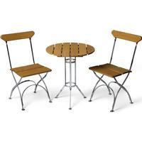 Grythyttan Bryggeri Set Cafégrupp, 1 Bord inkl. 2 Stolar