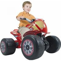 Injusa Flames Quad Motor Bike 6V