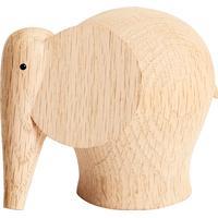 Woud Nunu Elephant 10cm Skulptur
