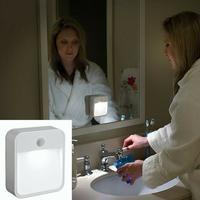 Mr. Beams universal LED sensor lampe - hvid