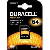 Duracell SDXC Hukommelseskort 64GB Klasse 10 / UHS-1