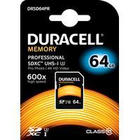 Duracell SDHC Hukommelseskort 64GB Klasse 10 / UHS-3