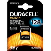 Duracell SDHC Hukommelseskort 128GB Klasse 10 / UHS-3