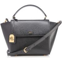 Ralph Lauren Leather Barclay Crossbody Bag - Black (118755426)