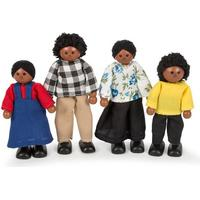 John Crane Black Doll Family