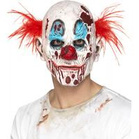 Smiffys Zombie Clownmask Skum Latex