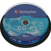 Verbatim CD-R Extra Protection 700MB 52x Spindle 10-Pack