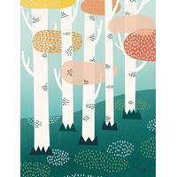 Michelle Carlslund Forest 50x70cm Plakater