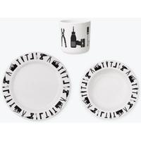 Design Letters Melamine Set Tool School