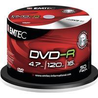 Emtec DVD-R 4.7GB 16x Spindle 50-Pack