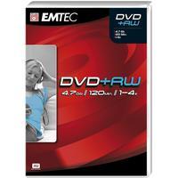 Emtec DVD+RW 4.7GB 4x Jewelcase 5-Pack