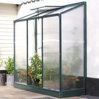 Vitavia IDA Vægdrivhus Small 1.34m² Alu+Glass Aluminium