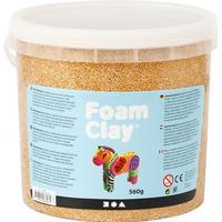 Foam Clay Gold Metallic Clay 560g